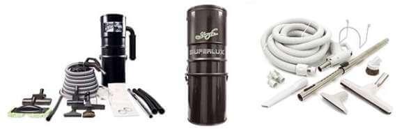 aspirateur central