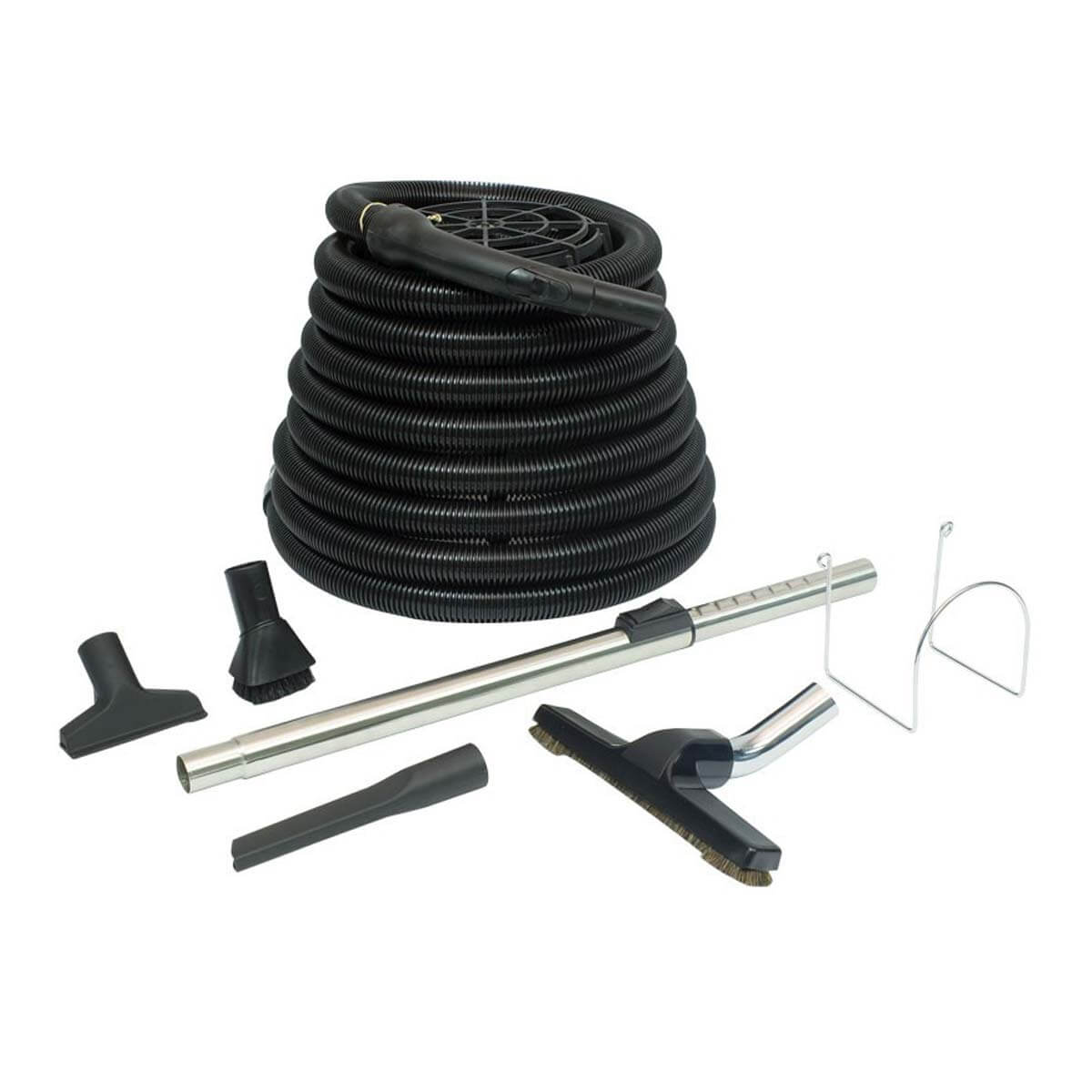 ENSEMBLE POUR ASPIRATEUR CENTRAL DE GARAGE DELUXE